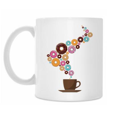 Кружка Кофе с пончиками