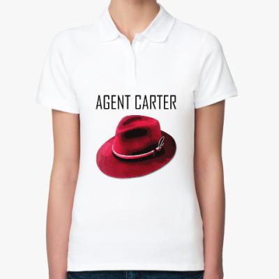 Женская рубашка поло Agent Carter