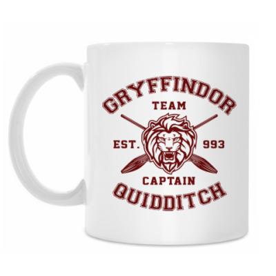 Кружка Gryffindor Quidditch Team