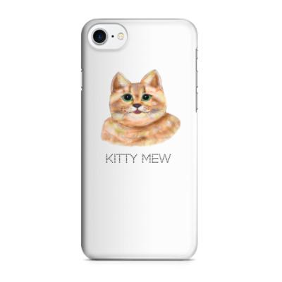 Чехол для iPhone 7/8 Котик