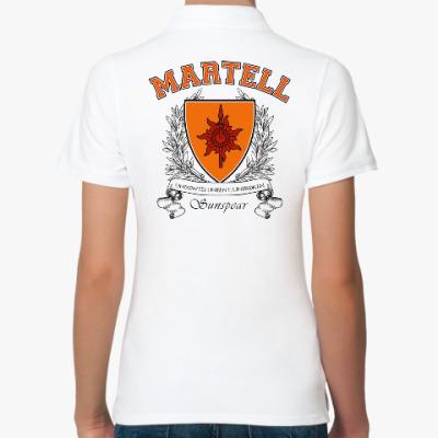 Женская рубашка поло House Martell