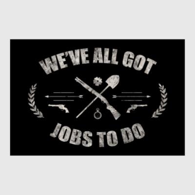 Постер Walking Dead Ходячие мертвецы