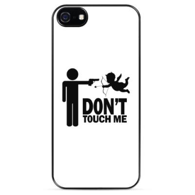 Чехол для iPhone Любовь, купидон, оружие...