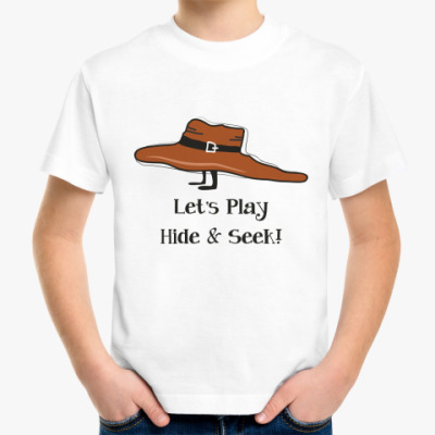 Детская футболка 'Прятки'
