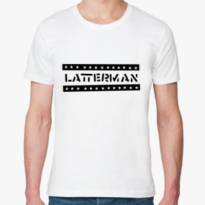 Футболка из органик-хлопка  Latterman