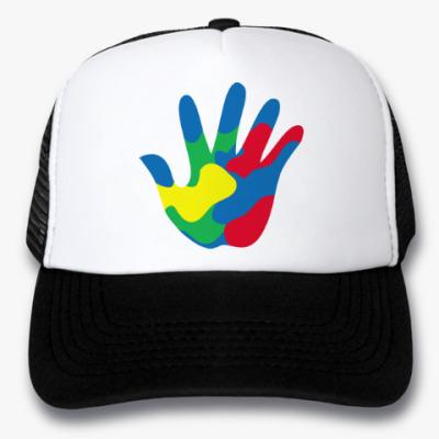 Кепка-тракер Отпечаток Руки