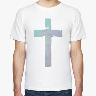 Футболка Крест из звезд