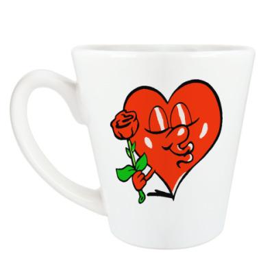 Чашка Латте Я люблю тебя