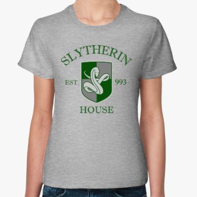 Женская футболка Slytherin
