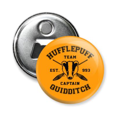 Магнит-открывашка Hufflepuff Quidditch
