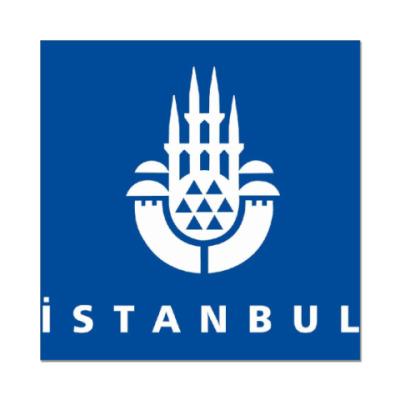 Наклейка (стикер) Istanbul