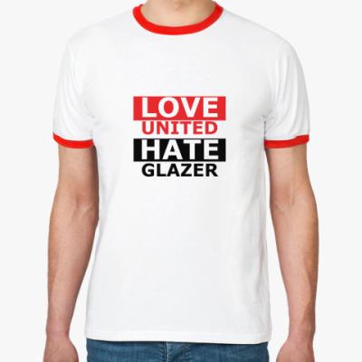 Футболка Ringer-T LoveUnited