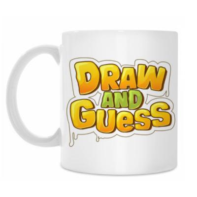 Кружка Draw and Guess с крокодилом