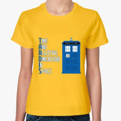 Женская футболка TARDIS Doctor Who