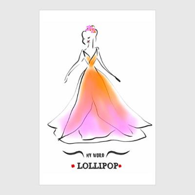 Постер Lollipop ( Леденец )