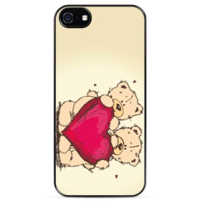 Чехол для iPhone Мишки Тедди