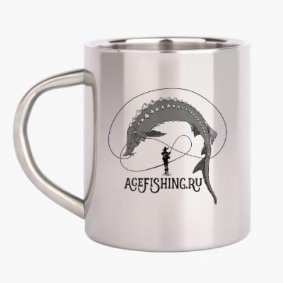 Кружка металлическая Acefishing
