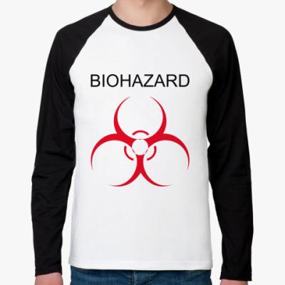 Футболка реглан с длинным рукавом Biohazard