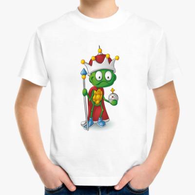 Детская футболка Добрый Черепашонок Король