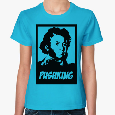 Женская футболка Пушкин