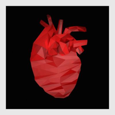 Постер Сердце 3D