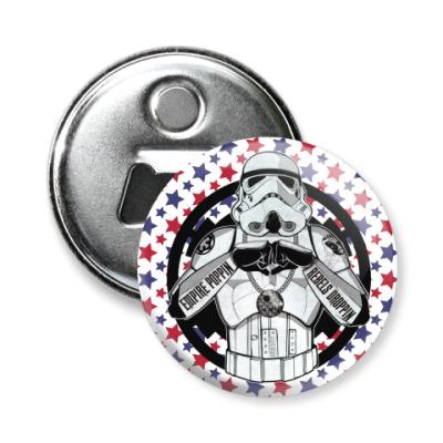Магнит-открывашка Cool Stormtrooper