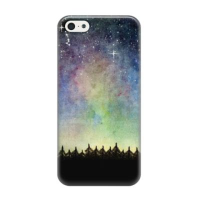 Чехол для iPhone 5/5s Космическое звездное небо