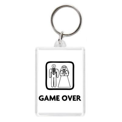 Брелок Game Over