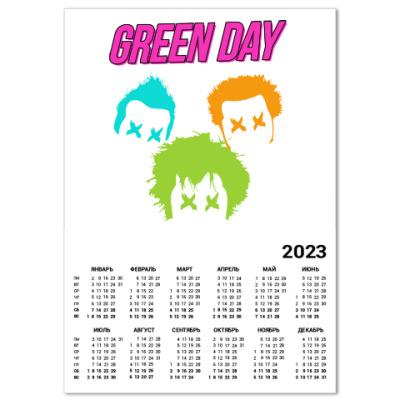 Календарь Green Day