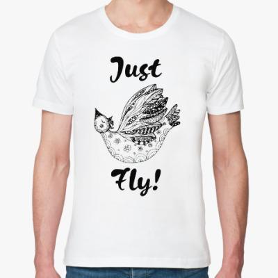 Футболка из органик-хлопка Just Fly!