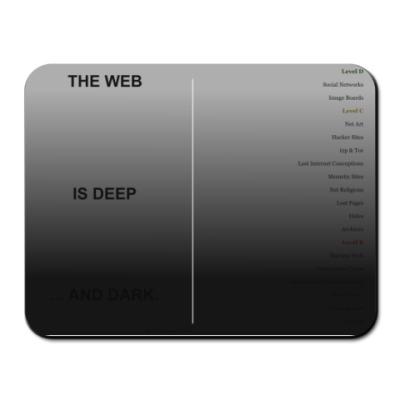 Коврик для мыши The web is deep and dark