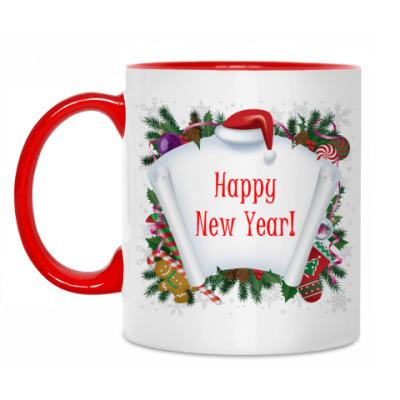Кружка Happy New Year