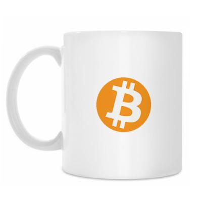 Кружка Кружка Bitcoin белая
