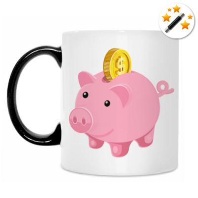 Кружка-хамелеон Piggy Bank