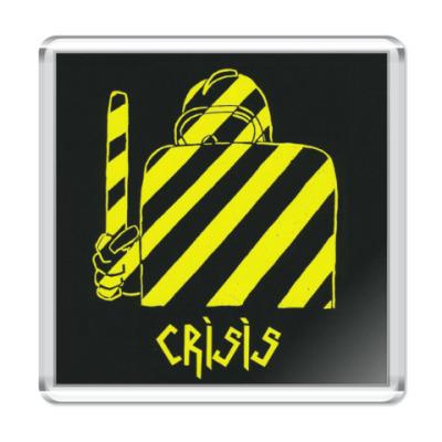 Магнит Crisis 'Ends!'