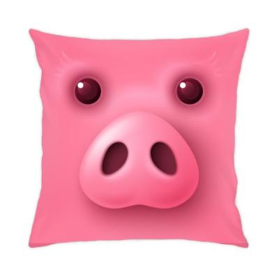 Подушка Новогодняя Свинка