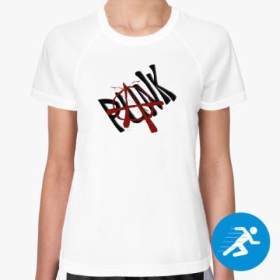 Женская спортивная футболка Панк!