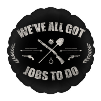 Подушка Walking Dead Ходячие мертвецы