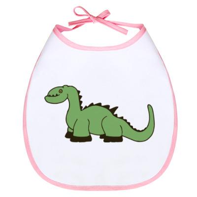 Слюнявчик Детская Baby Dino