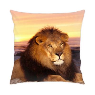 Подушка Лев