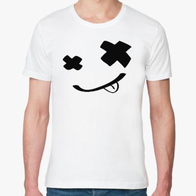 Футболка из органик-хлопка Смайлик (smile) nirvana