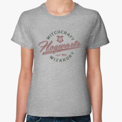 Женская футболка Hogwarts