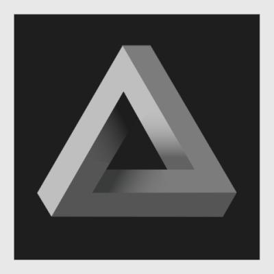 Постер Невозможный Треугольник 3D