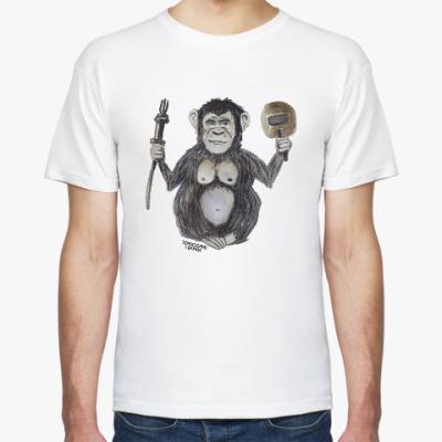 Футболка Watercolor monkey