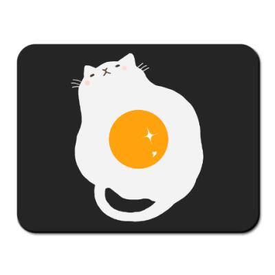 Коврик для мыши Кот-яичница