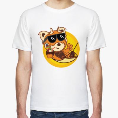 Футболка Красная панда - огненный лис