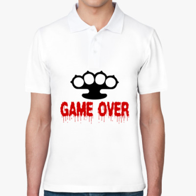 Рубашка поло Game over
