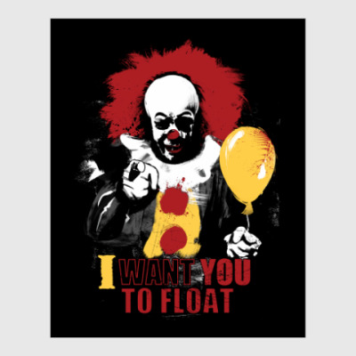 Постер Clown It by Stephen King