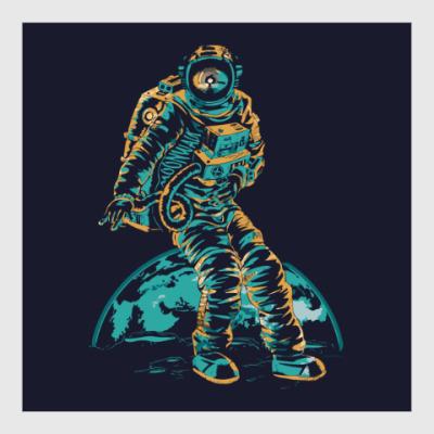 Постер Космонавт