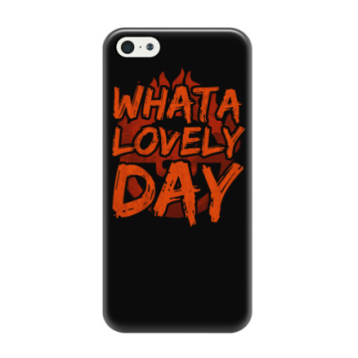 Чехол для iPhone 5/5s What a lovely day